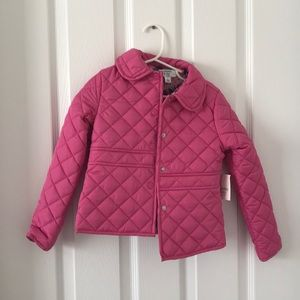 Adorable NWT pink jacket: 5T